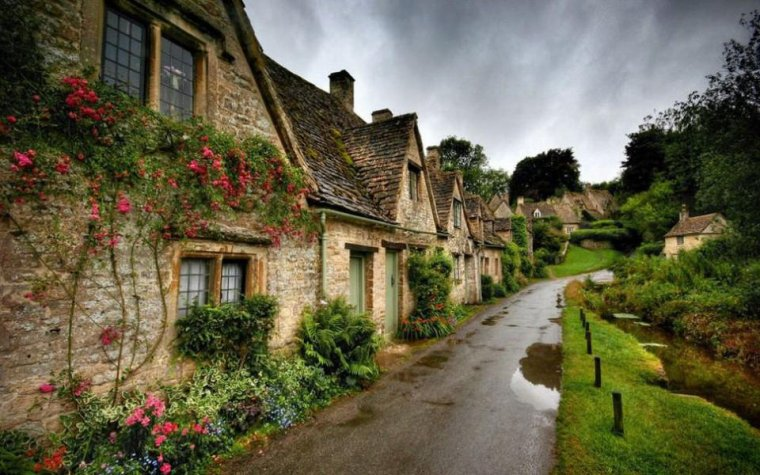 Bourgs et villages pittoresques  -  Bibury