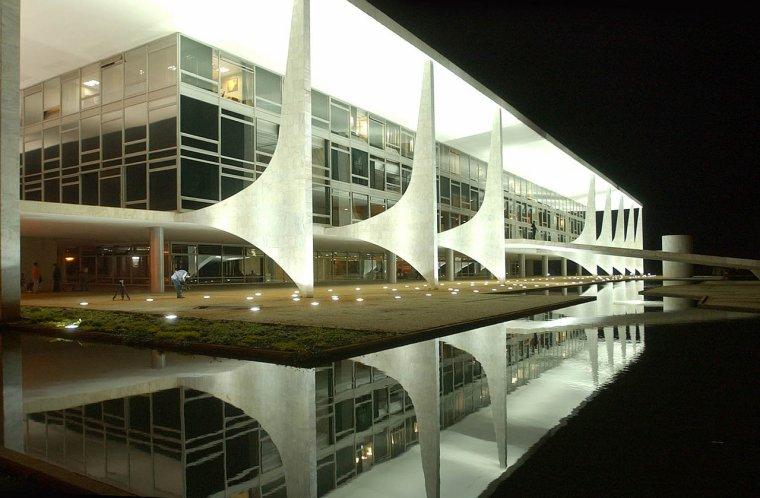 Brésil  -  Palais présidentiel - Palais de l'Aurore