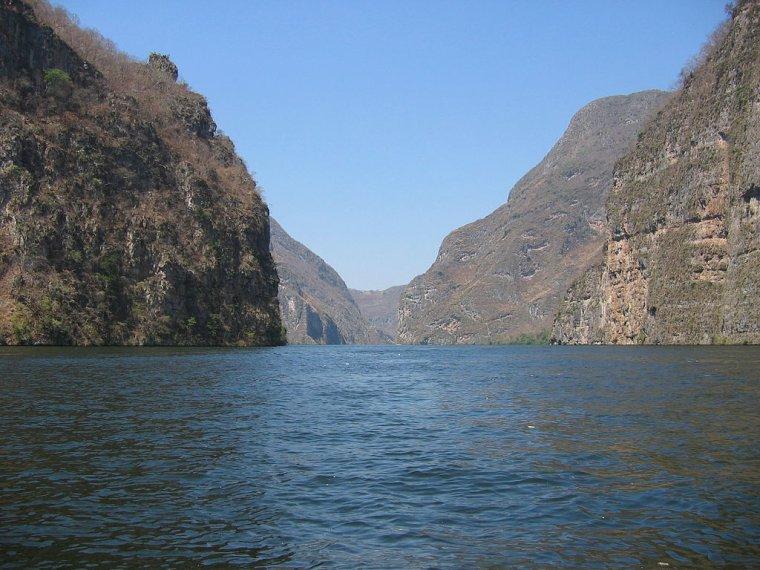 Mexique  -  Canyon du Sumidero