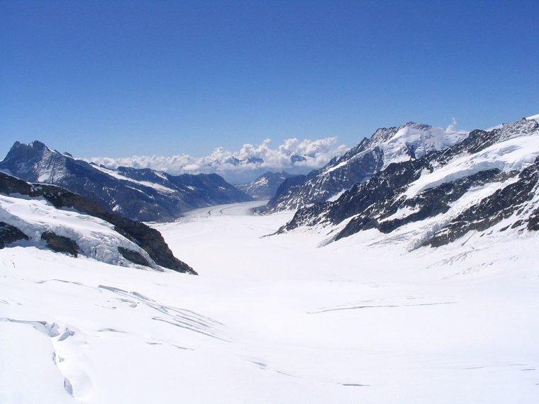 Suisse  -  Glacier d'Aletsch