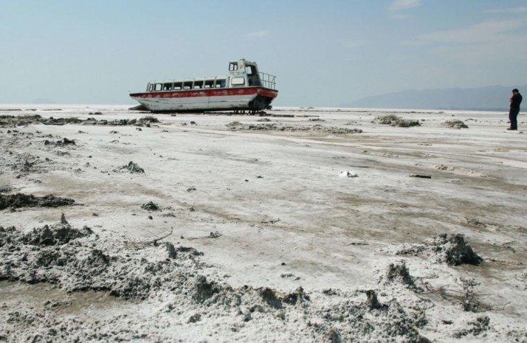 Iran  -  Lac d'Ourmia