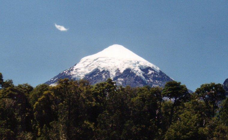 Stratovolcan  -  Lanín