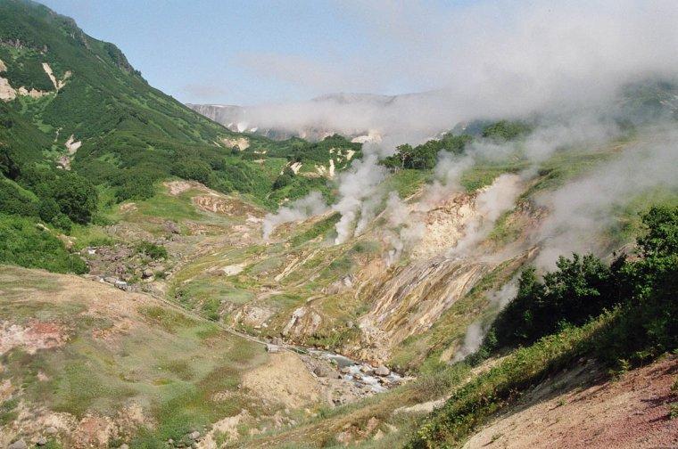 Russie  _  Péninsule volcanique  -  Kamtchatka