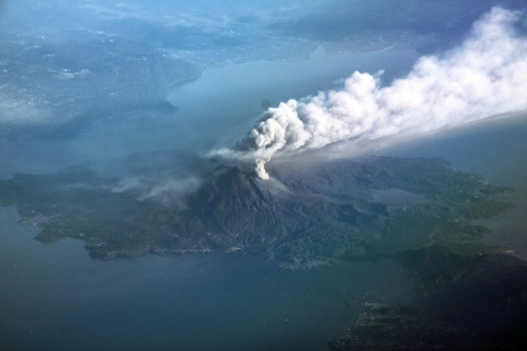 Japon  - Volcan Sakurajima