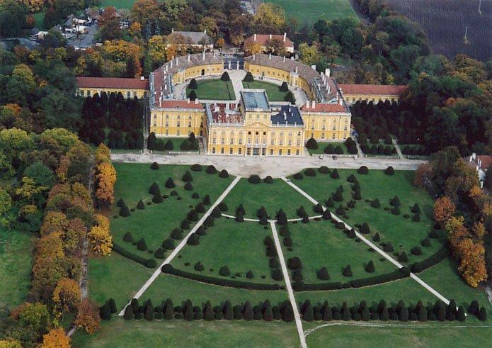 Hongrie  -  Palais Esterházy (Fertőd)