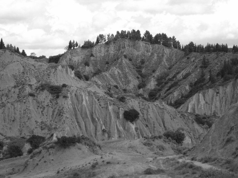 géomorphologie  -  Badlands