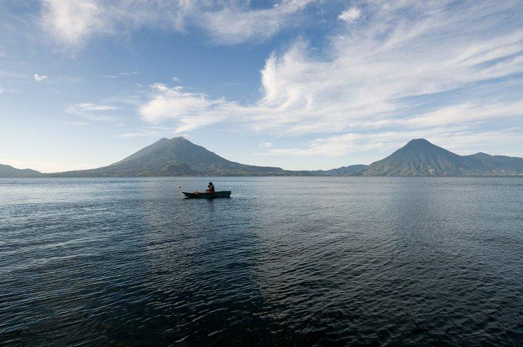 Guatemala  -  Lac Atitlán