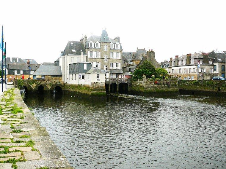 Pont habité  -  Pont de Rohan