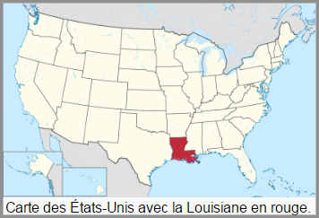 Etats d'Amérique  -  Louisiane