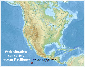 Océan Pacifique  -  Île de Clipperton