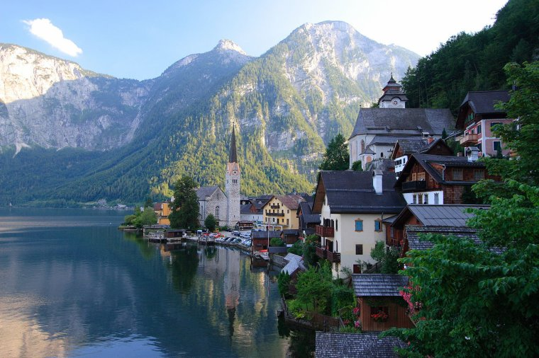 Bourgs et villages pittoresques  -  Hallstatt