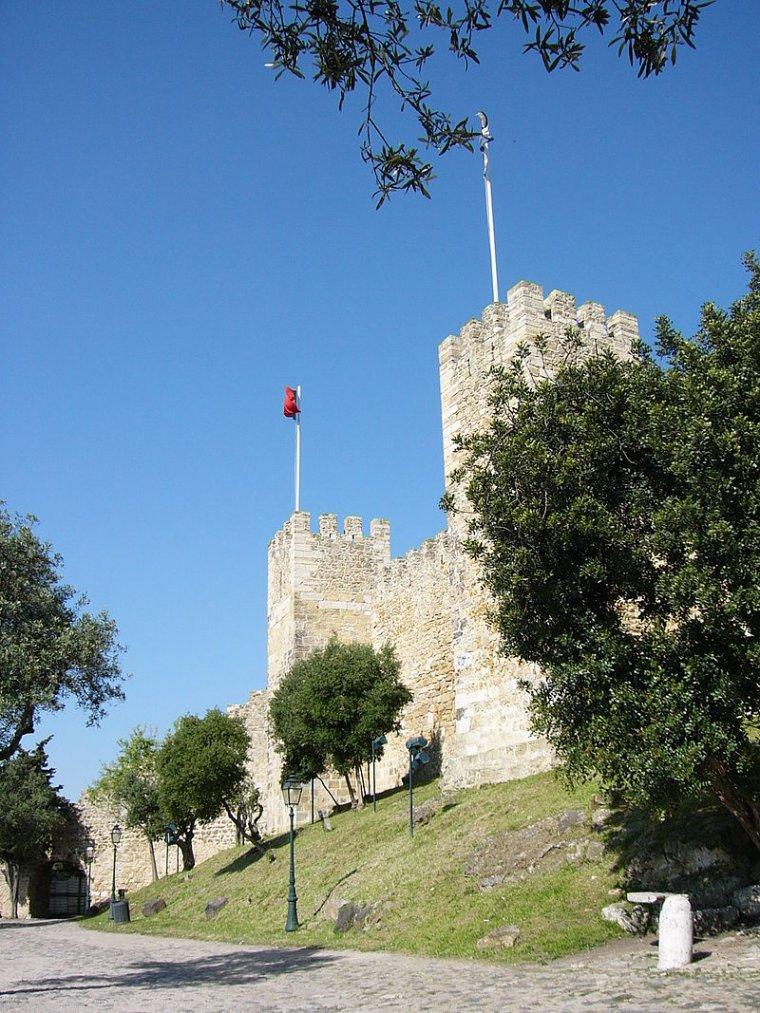Portugal  -  Château de Saint-Georges (Lisbonne)