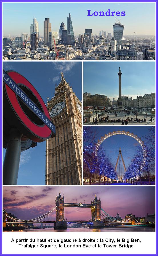 Tour d'horizon du Royaume-Uni