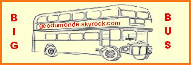 Royaume-Unis  -  Londres Bus Touristique