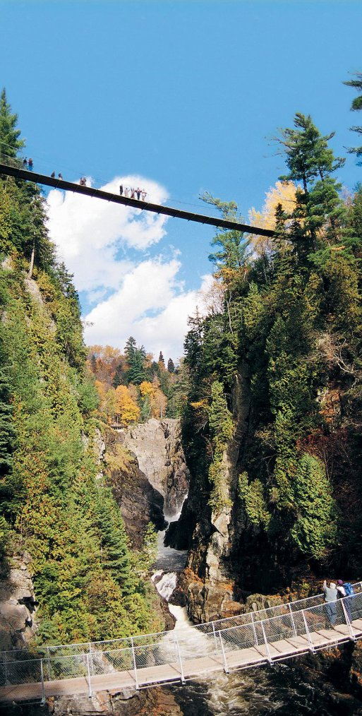 Canada  -  Canyon Sainte-Anne