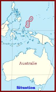 Océan Pacifique  -  Melekeok  (capitale)