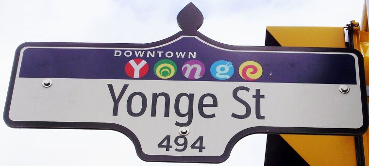 Canada  -  Rue Yonge