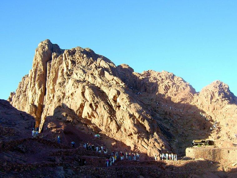 Egypte  -  Mont Sinaï