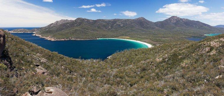 Tasmanie  (Australie)  -  Parc national Freycinet