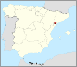 Espagne  -  Château de Miravet