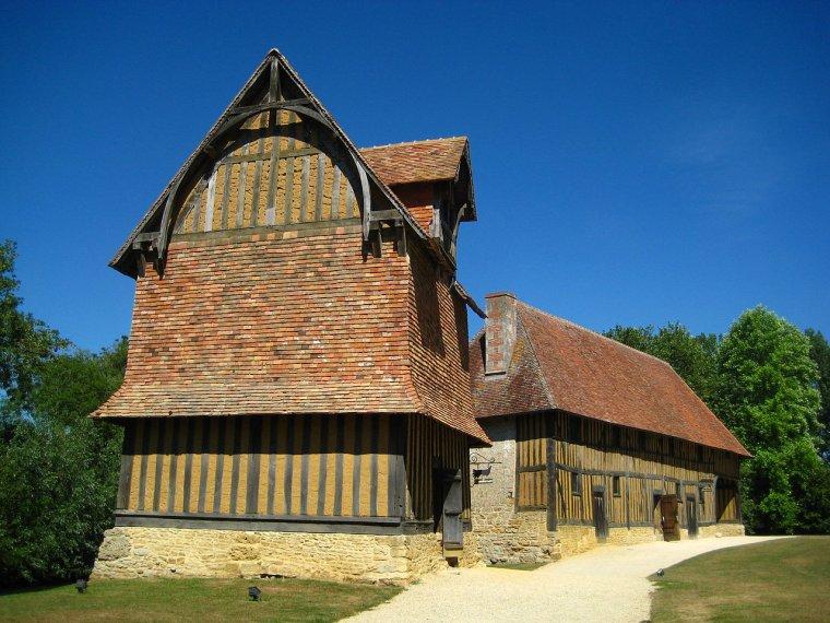 France  -  Château de Crèvec½ur-en-Auge