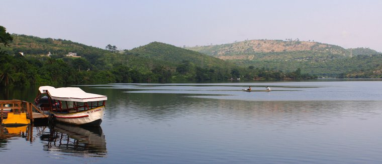 Ghana  -  Lac Volta