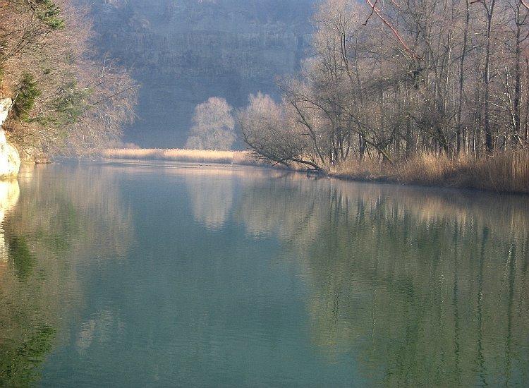 Suisse  -  Sarine (Rivière)