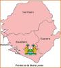 Afrique  -  Provinces de Sierra Leone
