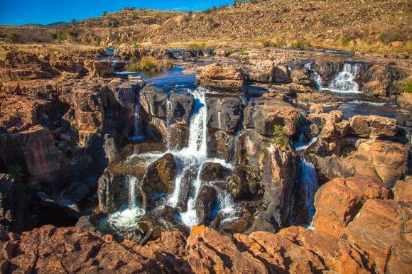 Afrique du Sud  -  Crevasses de Bourke