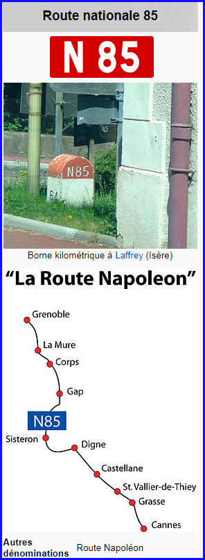 France  -  Route nationale 85