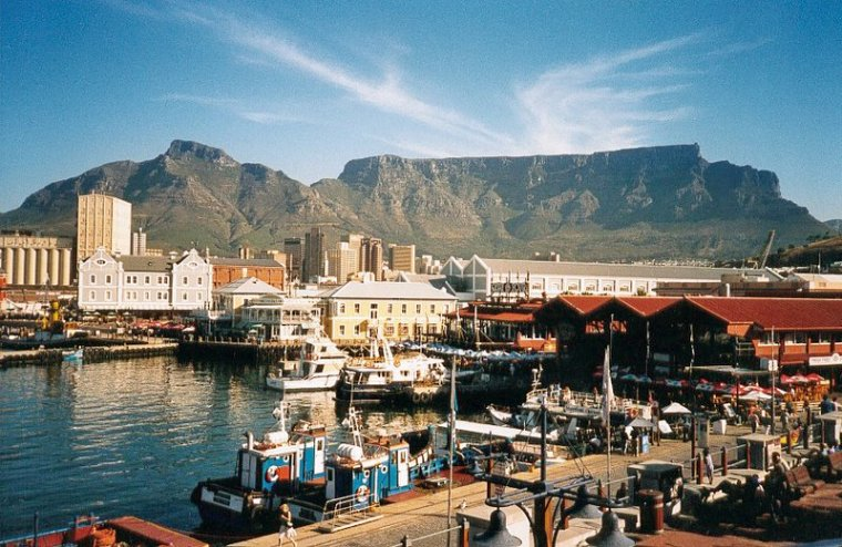Afrique du Sud  -  Montagne de la Table
