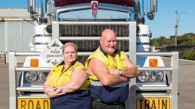 Australie  -  Les routiers