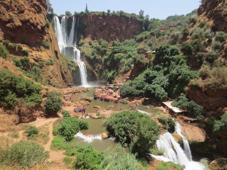 Maroc  -  Cascades d'Ouzoud