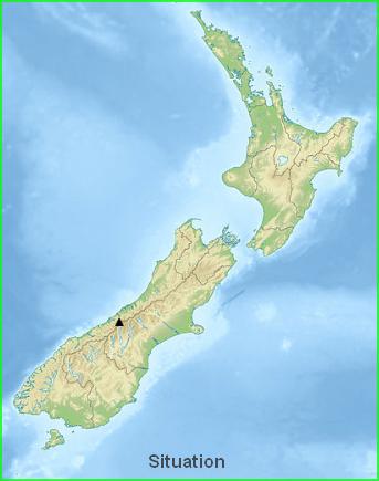 Nouvelle-Zélande  -  Alpes du Sud