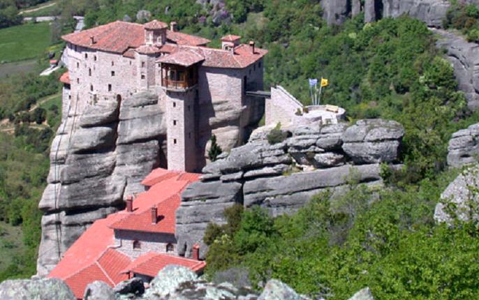 Grèce  -  Monastères des Météores