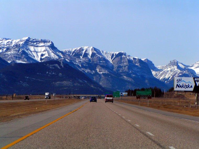 Canada  -  Route 1 (Alberta)