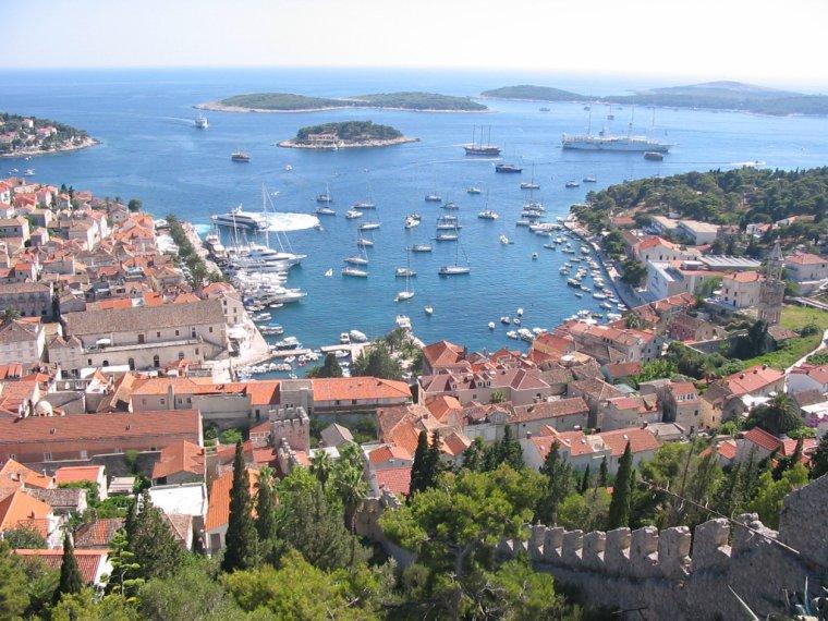 Croatie  -  Îles Infernales