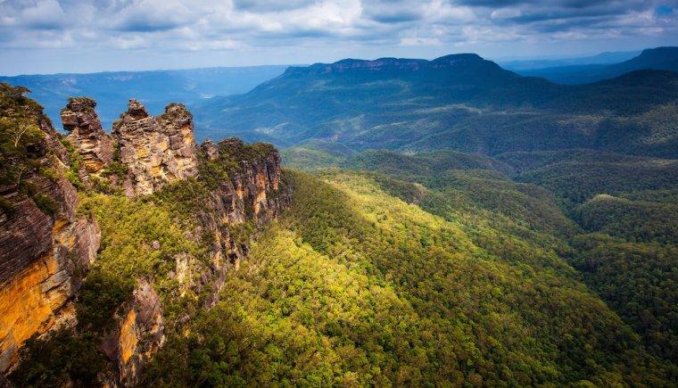 Australie  -  Montagnes Bleues