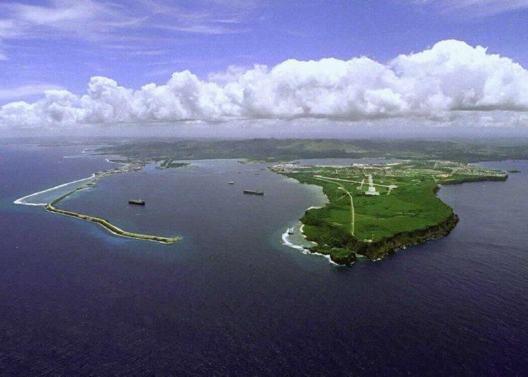 Océan Pacifique  -  Guam