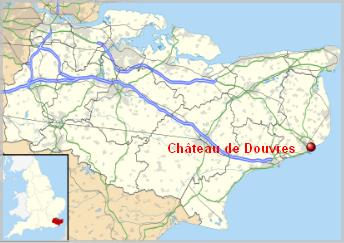 Royaume-Uni  -  Château de Douvres