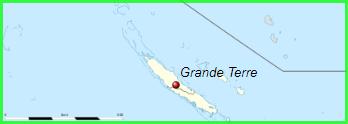 Nouvelle-Calédonie  -  Grande -Terre