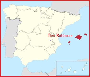 Espagne  -  Îles Baléares