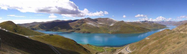 Chine  -  Lac Yamdrok-Tso