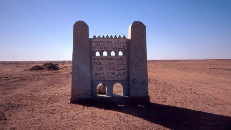 Algérie / Mali  -  Tanezrouft
