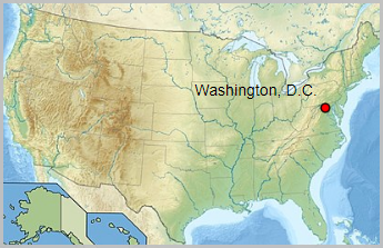 Etats-Unis  -  Washington (district de Columbia)
