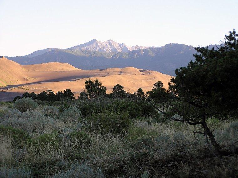 Etats-Unis  -  Parc national et réserve de Great Sand Dunes