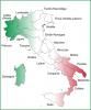 L'Italie et ses provinces