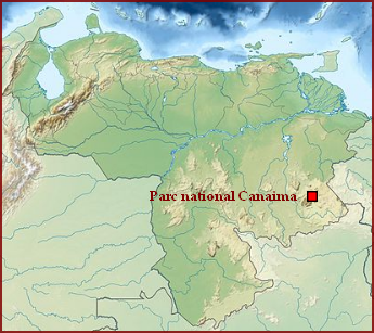 Venezuela  -  Parc national Canaima