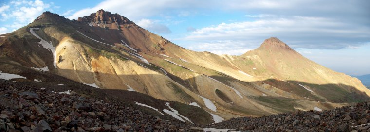 Arménie  -  Volcan Aragats