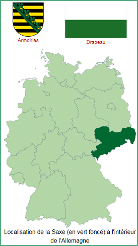 Allemagne  -  Saxe (Land)